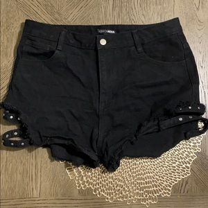 After Dark Denim Shorts